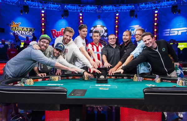 The WSOP 2014 November Nine