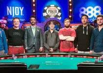 The November Nine at the WSOP 2015 Finals table