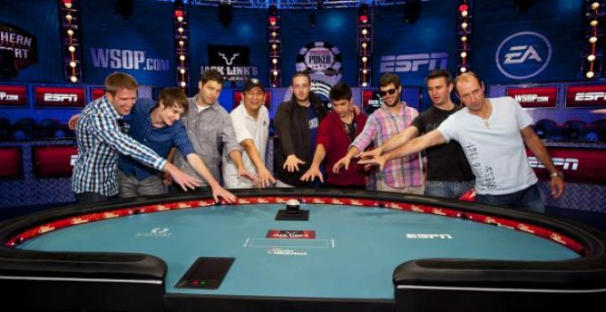 2012 WSOP October Nine
