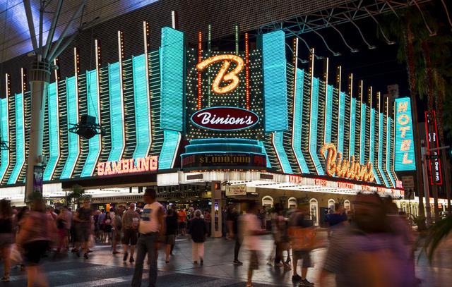 Binion Horseshoe Casino – where it all begun!